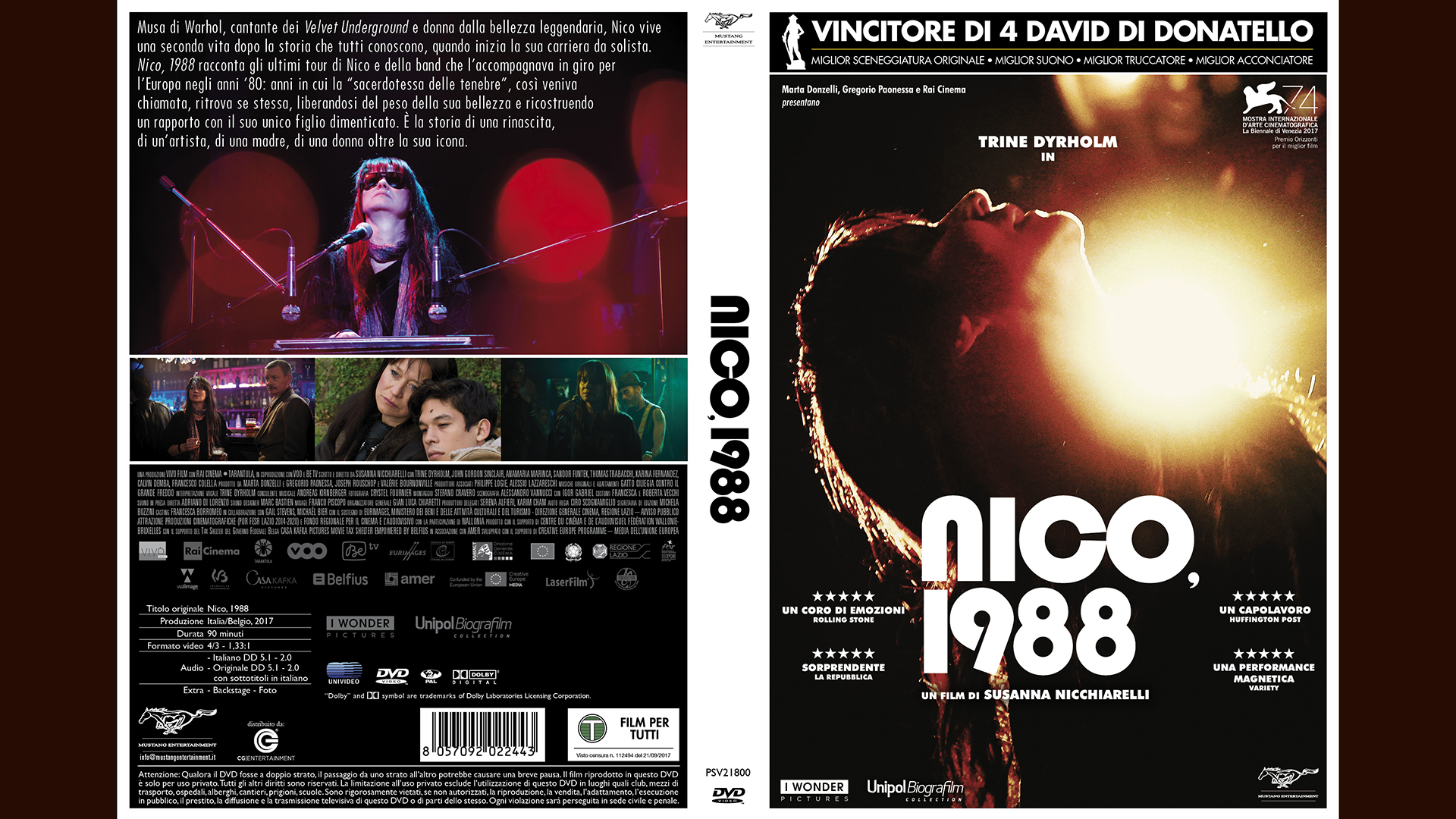 "Image for: ""NICO, 1988"" IN DVD"