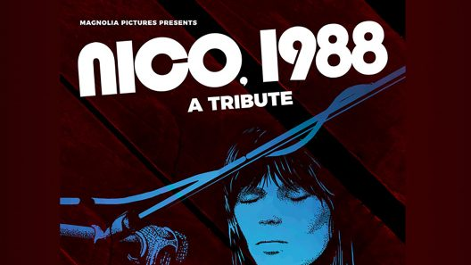 """Image for: """"NICO, 1988"""" RELEASE IN THE USA + SPECIAL TRIBUTE TO NICO"""