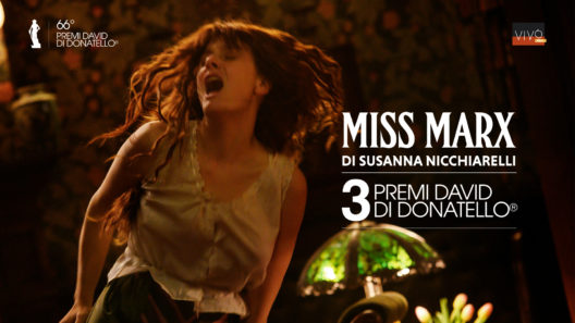 Image for: (Italiano) Miss Marx vince 3 David di Donatello